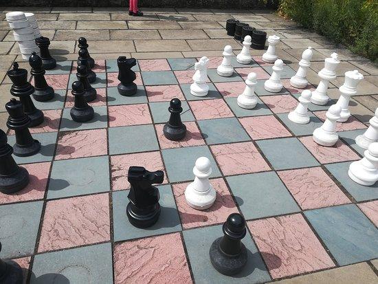 Falkland Palace & Garden: szachy