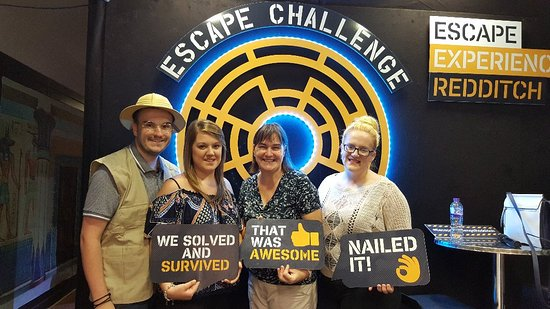 Escape Challenge - Escape Experience Redditch #EscapeExperienceRedditch