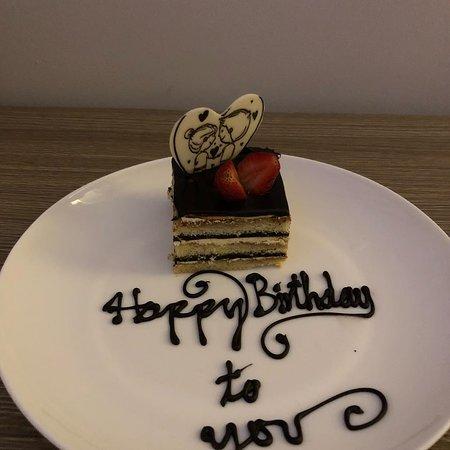 Guest Feedback / Happy Birthday cake