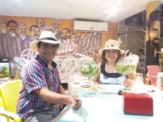 Pizzeria Aguanile: Luna de miel
