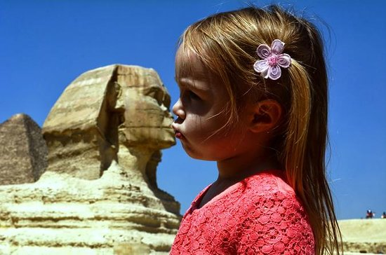 プライベートロングレイオーヴァーツアー:カイロ空港からのギザピラミッド、エジ…