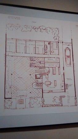 Villa Ocampo: Plano de la casa