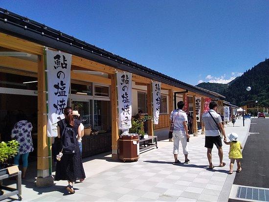 Gujo, Япония: 賑わっていました。