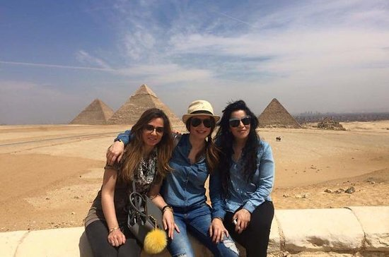 Private tour to Giza pyramids and...