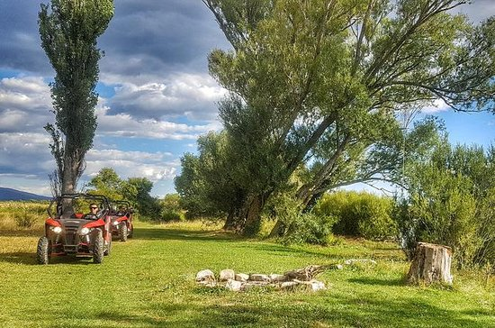 Buggy adventure across river Cetina
