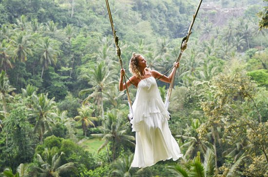 Tour del volcán Bali Swing, con...