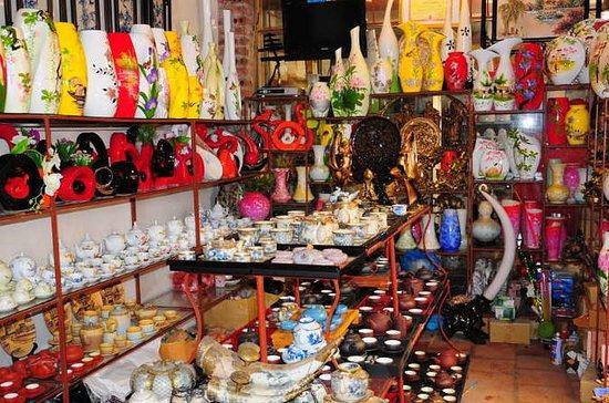 ハノイ旧市街のウォーキング、観光、ショッピング