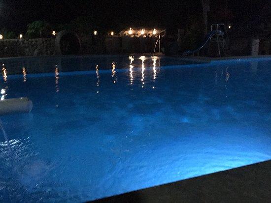 Swimming pool in Diana's bay restaurant jepara