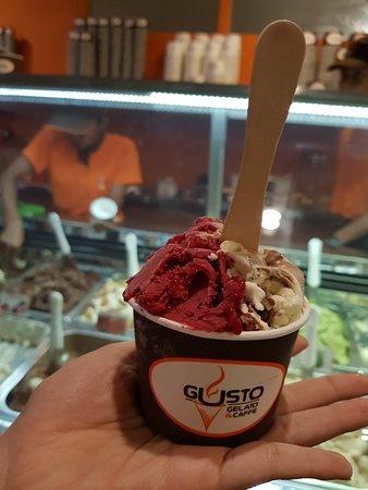 Delicious gelato