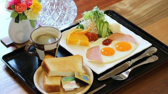 Tokushima Prefecture, Japonia: 洋朝食