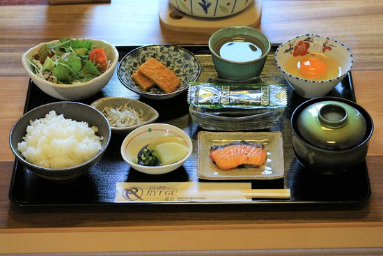 Tokushima Prefecture, Japonia: 和朝食