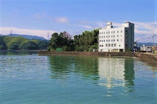 Tokushima Prefecture, Japan: 海沿いの外観
