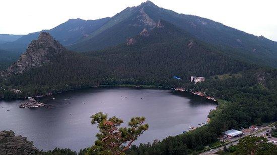 Borovoe, Kazachstan: Вид с горы