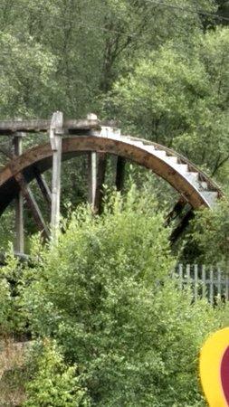 Pont-Rhyd-y-Groes, UK: Miners aqua wheel