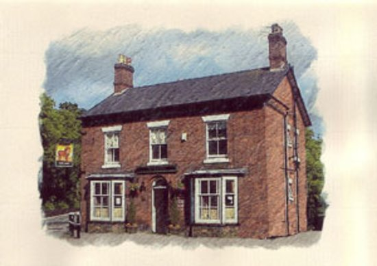 In the Village of Hartford in the Heart of Cheshire is the Red Lion Hartford