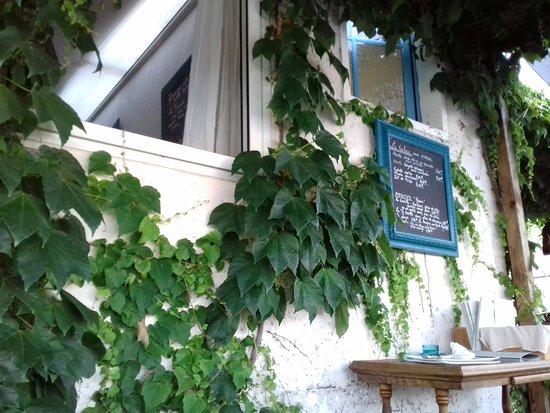 Ingrandes, França: Menu du jour