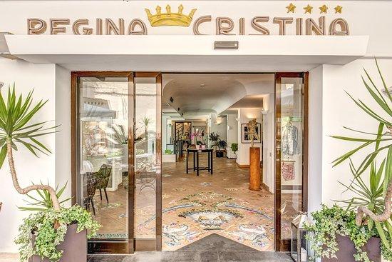โรงแรมเรจจินา คริสตินา: Benvenuti all'Hotel Regina Cristina