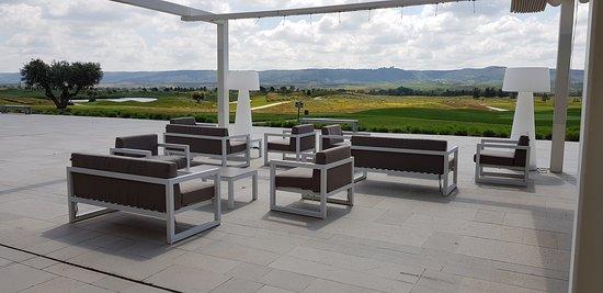 Terraza Cafetería Con Vistas Al Campo De Golf Picture Of