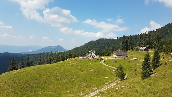 Poljane nad Skofjo Loko, Slovenia: This was our halve way point and the place we had lunch at