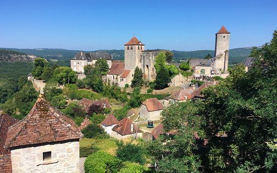 Village médiéval de Montvalent (Haut Quercy, Lot)