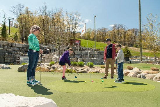 Blue Mountains, Canada: Cascade Putting Course