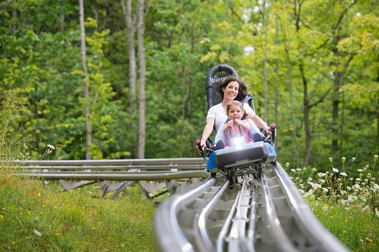 Blue Mountains, Canada: Ridge Runner Mountain Coaster
