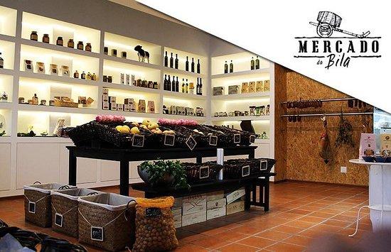 Mercado da Bila: Loja frutas/ frescos Produtos regionais
