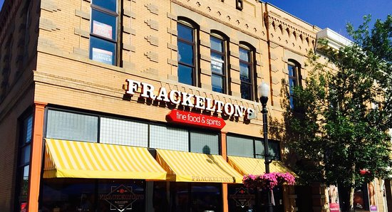 Set in Sheridan's historic downtown - Frackelton's is perfectly located across from the WYO Thea
