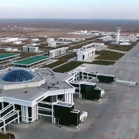 Turkmenabat, Turkmenistan: Международный аэропорт Туркменабада