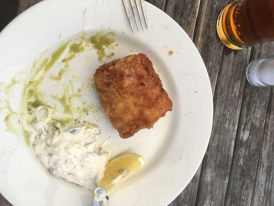 Walberswick, UK: Fish portion....