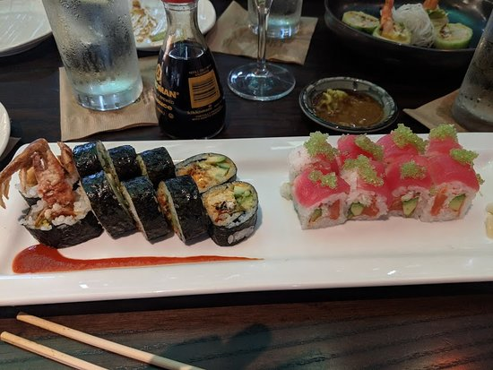 Westwood, KS: spider roll & pretty in pink rool