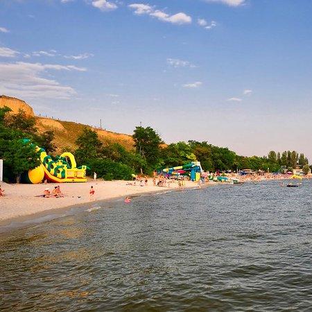 Ochakiv, Ucrânia: Госпитальный (Центральный) пляж