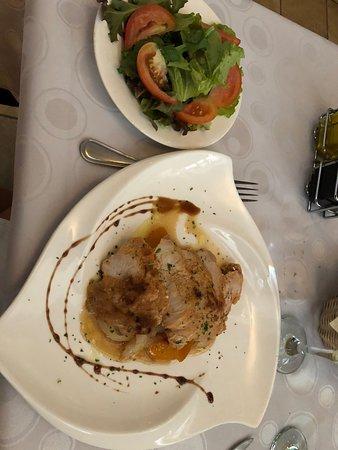 Restaurante Paladar Decameron: a pork dish (forgot) but very tasty-