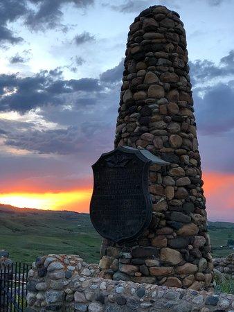 Banner, WY: Fetterman Battlefield Monument