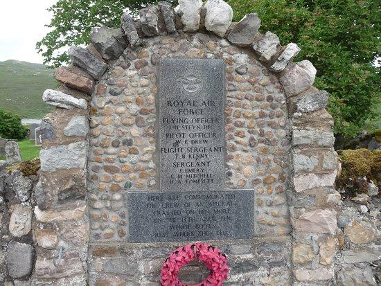 World War 11 Memorial at Inchnadamph