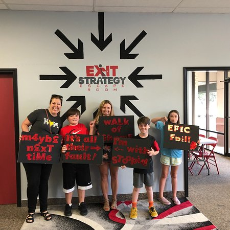 Exit Theory Escape Room: Exit Strategy- Escape Room