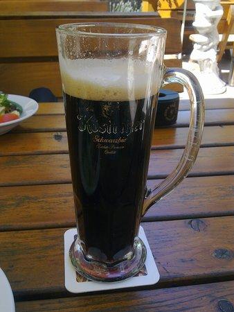 Langenselbold, Γερμανία: Dazu ein dunkler 0,5 Bier, sehr schmackhaft.