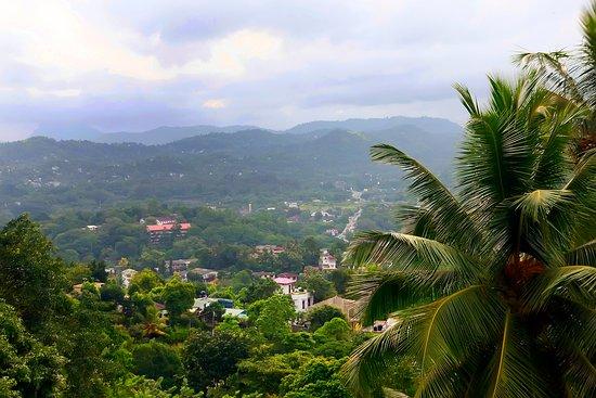 Heerassagala, Srí Lanka: view from the balcony