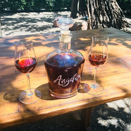 Swanson Vineyards Salon: If you love port, you'll love Angelica!