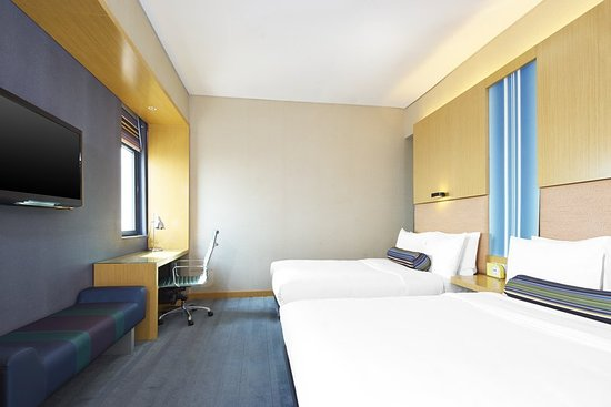 Haiyang, China: Guest room