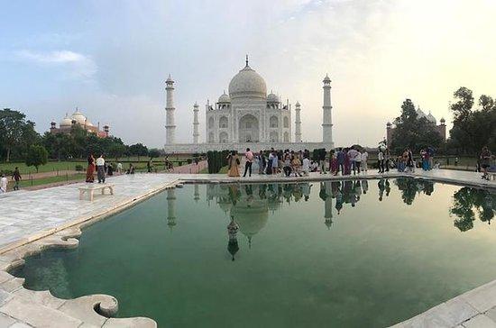 Privat All Inclusive Taj Mahal og Agra...