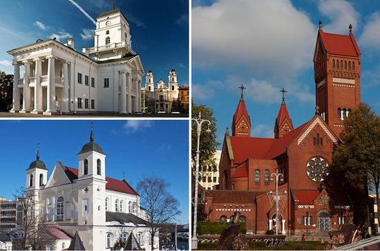 Walking guided tour within Minsk city