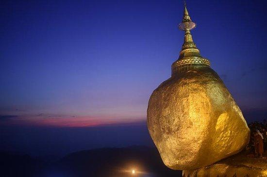 Golden Rock dagstur fra Yangon