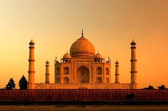 Tidlig morgen Taj Mahal Sunrise og Agra...