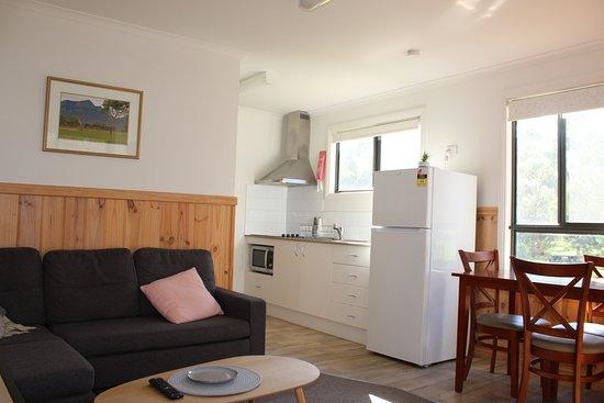 Dunkeld, Austrália: Salty Cabin- Living area
