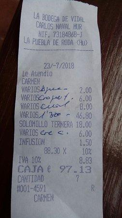 La Puebla de Roda, Spain: IMG_20180722_170941_large.jpg