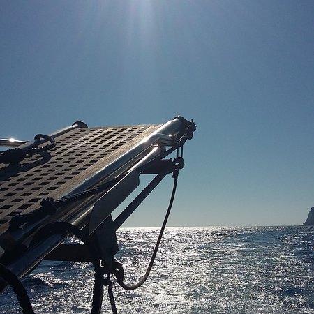 Barca Greta Simone Cardinale照片