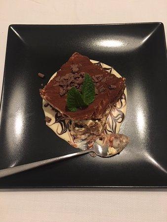 homemade tiramisu with Amaretto di Saronno