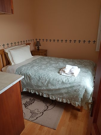 one of the three bedrooms