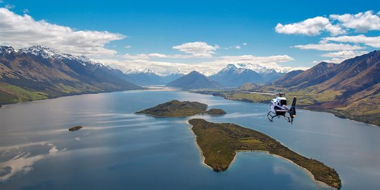 Glenorchy, Nueva Zelanda: Fly with us, Let's explore!